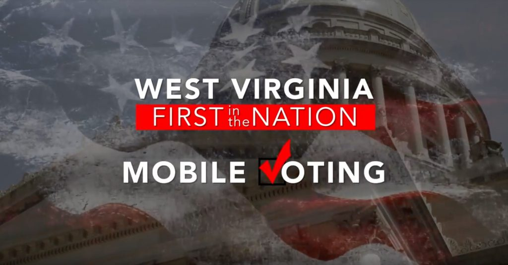 Historic First in the Nation - Mobile Voting